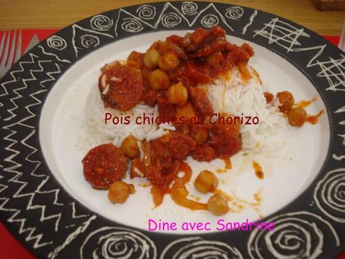 Une soupe aux Pois chiches et Tomates