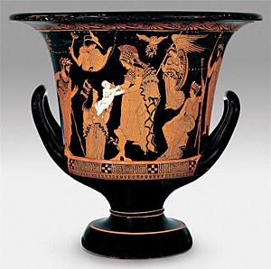 Athéna et Erichthonios