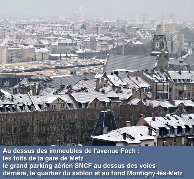 Vue aérienne de Metz janvier 15 09 01 2010