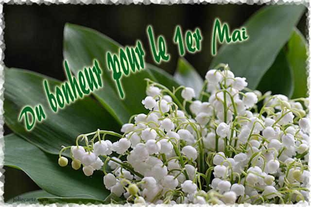 Joyeux premier Mai !