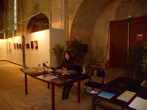 En octobre  2013 et 2014 MIWA a exposé avec le collectif INSTANTS ESPACES