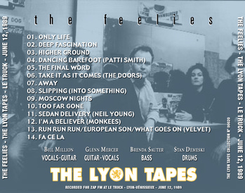 Live:  The Feelies - Lyon Tapes - Le Truck - 12 Juin 1989