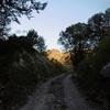 Arrivée au col face à la montagne de Couecq (1620 m)