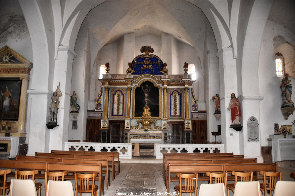Pause mais......................Eglise Saint-Aignan ou Eglise Grande - Bélaye - Lot