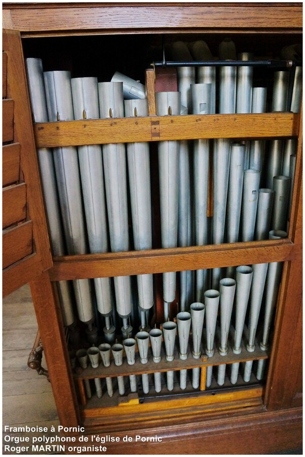 L'orgue Polyphone de L'église St Gilles à Pornic