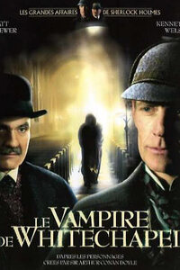 Sherlock Holmes et le Vampire de Whitechapel (2003) : ...-----... 1892 dans le quartier de Whitechapel. Les moines et les nonnes de St. Justinien viennent en aide aux déshérités depuis des années. Peu avant Noël, un des moines est trouvé mort dans l'église de l'abbaye, apparemment mordu par un vampire. Frère Marstoke demande l'aide de Sherlock Holmes.....-----... Titre: Sherlock Holmes et le Vampire de Whitechapel (2003) Catégorie: Policier Année: 2003 Réalisateur: Rodney Gibbons Acteurs: Matt Frewer, Edward Walsh et Kathleen McAuliffe Date de Sortie: Octobre 2003 Durée: 1heure 24 minutes origine: Canada, Etats-Unis