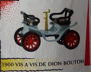 De Dion Bouton Vis à vis 1900 RAMI JMK