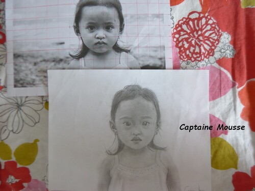 Portrait d'une petite fille