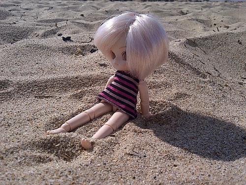 Angélique à la plage ☼