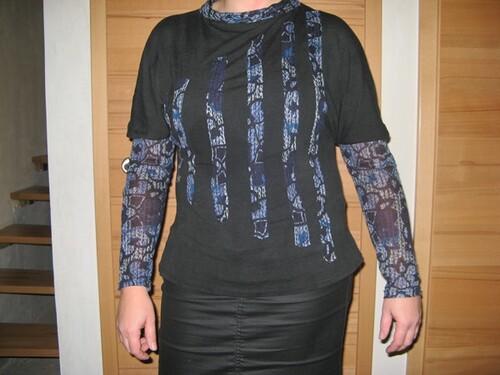 """Un t-shirt inspiration """"pluie"""""""