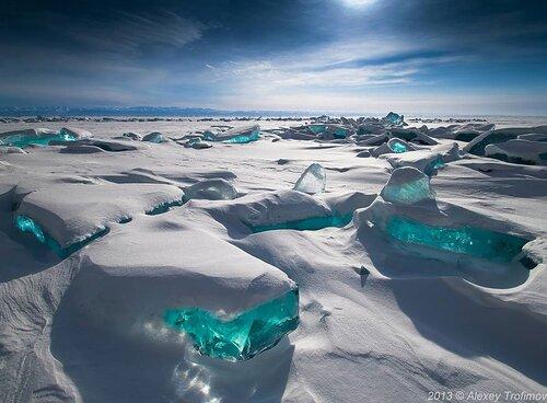 Les lacs gelés