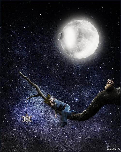Bonne Nuit (Photomontage)