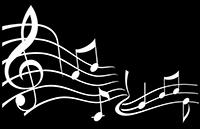 Une image et une musique dans un module