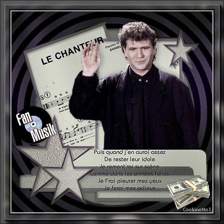 Le chanteur de Daniel Balavoine