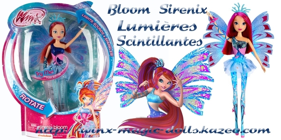 Bloom Sirenix Lumières Scintillantes