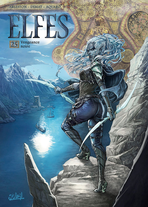 Elfes - Tome 25 Vengeance noire - Arleston & Dimat & Aquaro