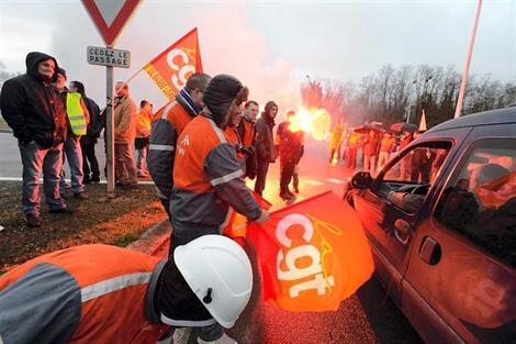 ArcelorMittal : les salariés du site de Basse-Indre en grève