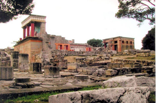 Knossos en Grèce
