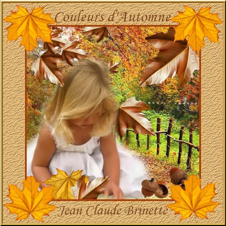 """"""" Couleurs d'Automne """" poème de Jean-Claude Brinette"""