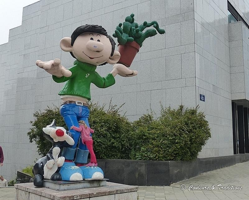 L'art et l'humour dans les rues de Bruxelles