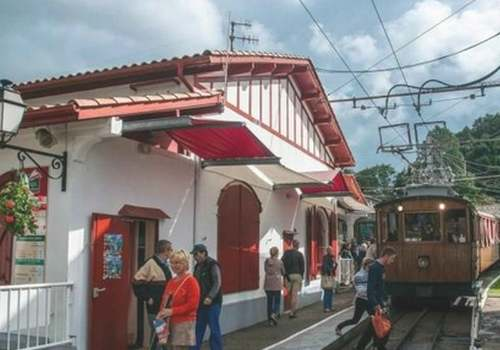 Le grand almanach de la rance : Le petit train de la Rhune
