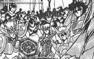 XVII - Armure de la Grande Ourse (Ursa Major Cloth)