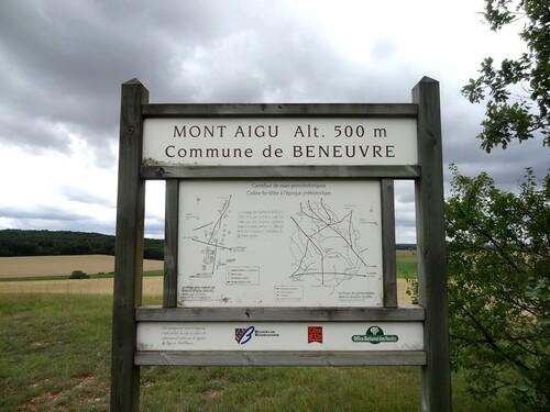 Le Mont Aigu à Beneuvre...