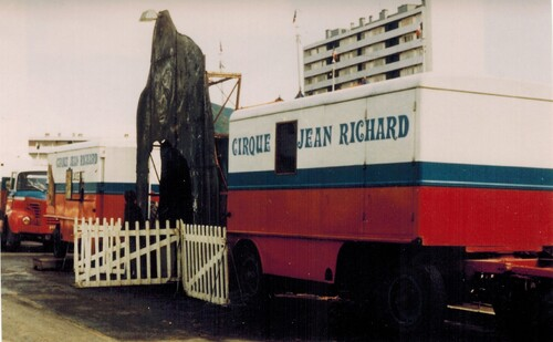 le cirque Jean Richard en 1970