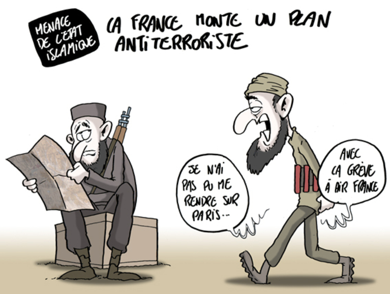 """Bernard Cazeneuve a réagi aux menaces de l'Etat Islamique. """"La France n'a pas peur"""" a lancé le ministre. Mais quels sont les moyens mis en œuvre pour protéger les Français des risques terroristes? Peut-on vraiment se prémunir des risques d'attentat?"""