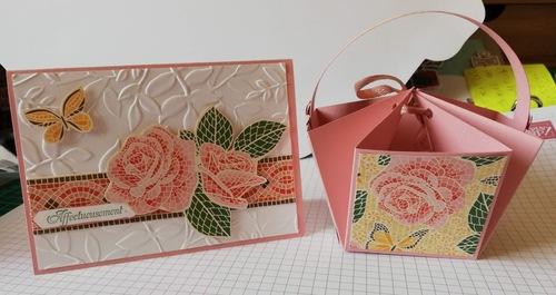 atelier chez Odette : les cadeaux....