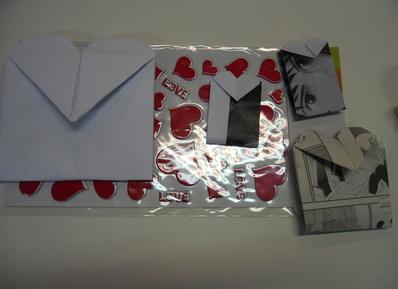 La Saint Valentin en origami