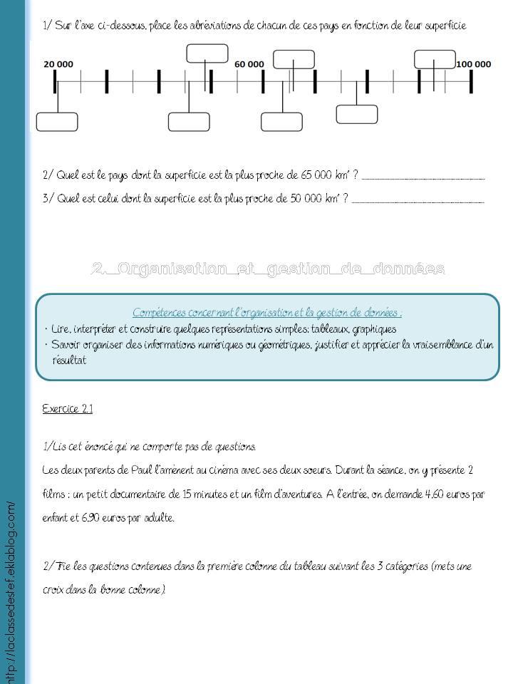 Cahier De Vacances Cm2 6eme La Classe De Stefany