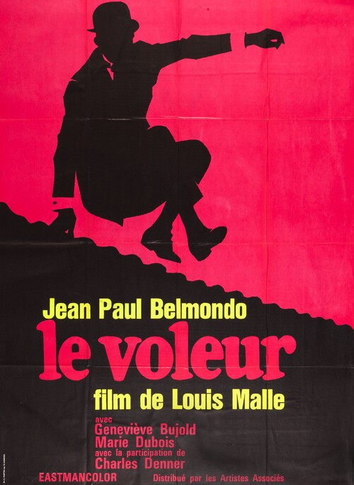 LE VOLEUR - BOX OFFICE JEAN-PAUL BELMONDO 1967