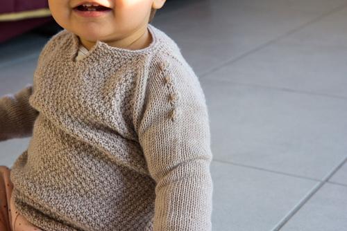 Mylène - Tricot : Mon Premier Design - Le Pull Bhulbule