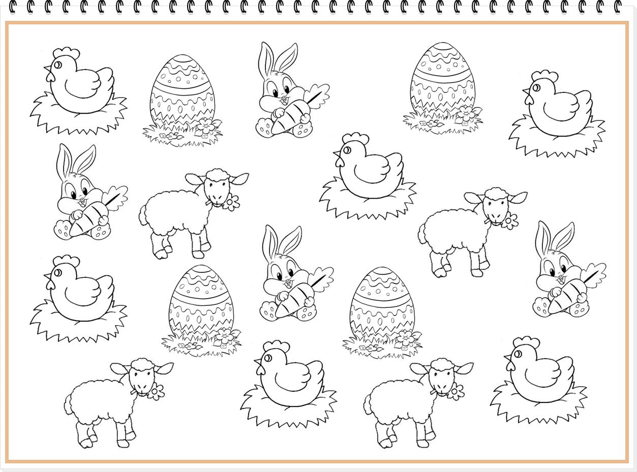 Pochettes surprises de Pâques