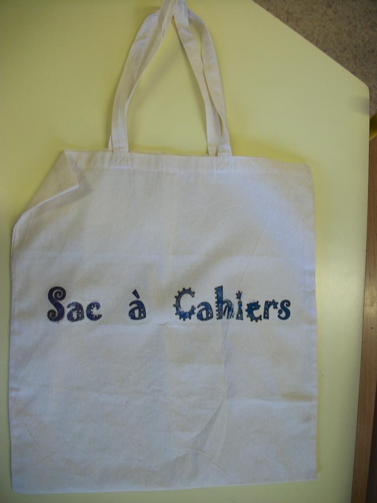 Le sac à cahiers