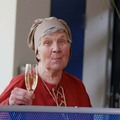 Septembre 2014, Fête de la Ville à Bargteheide : le salut d'Ursula Glau