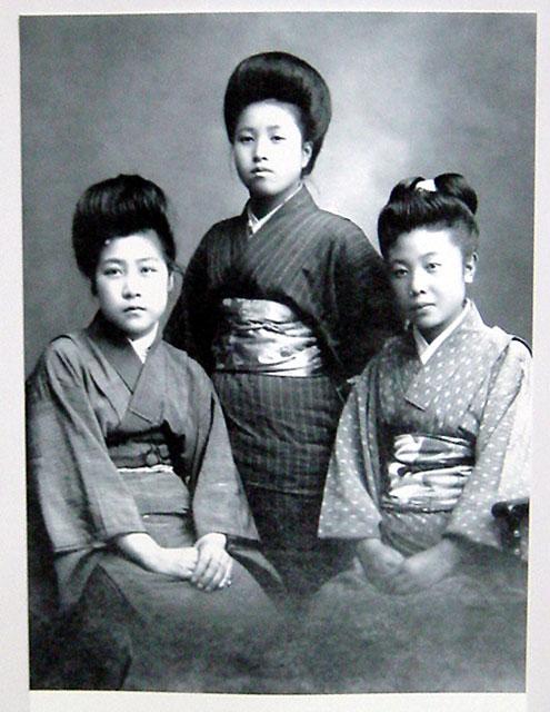l'ère taisho et meïji ( images de ces Epoques)