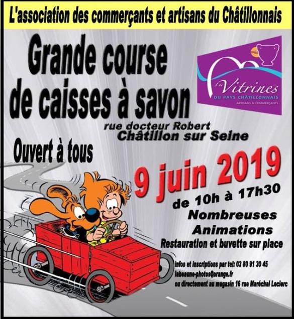 Les Vitrines Châtillonnaises vont organiser une course de caisses à savon !