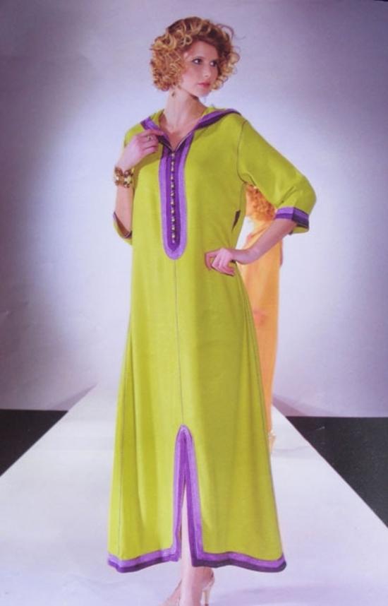 Jilbab Vert pour le mois de Ramadan 2015 - DJ S1011