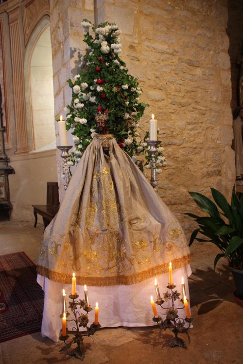 Entre Cazals et Montcléra...Vêpres de Pentecôte et Salut du Saint Sacrement