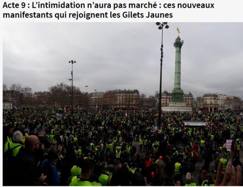 Act IX la révolte ou révolution continue
