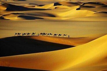 Le sable s'envole
