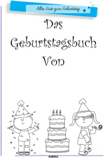 Geburtstagsbuch 2015