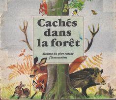 école : références: Cachés dans la forêt (Albertine Deletaille, 1957)