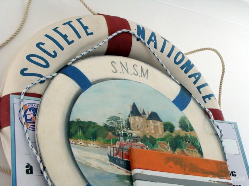 Pornic, la SNSM s'installe dans le phare de la Noeveillard