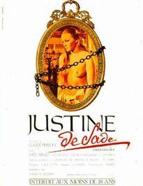 JUSTINE DE SADE BOX OFFICE FRANCE 1972