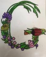 Abécédaire fleuri