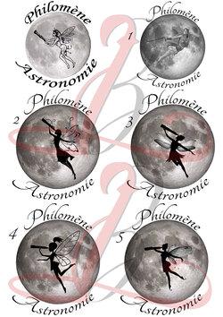 Création pour Philomène Astronomie