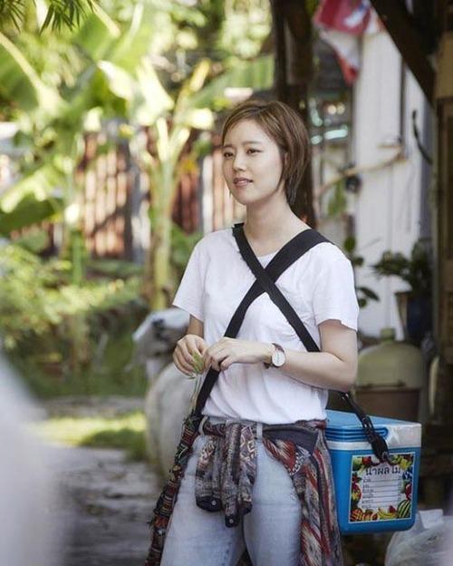 Nouveau look pour Moon Chae Won